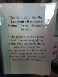 Note from a local business...