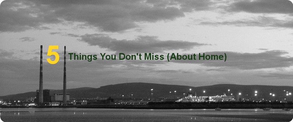 5 Things You Don't Miss