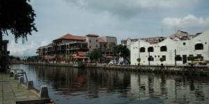 Banks of Melaka River