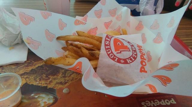 Popeye's Freshest Fast-Food Ever