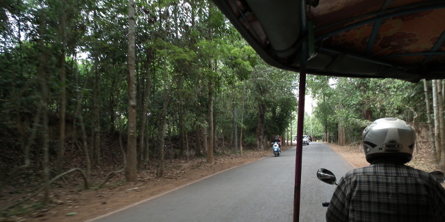 Heading to the Angkor's
