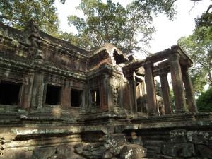 Behind Angkor Wat!