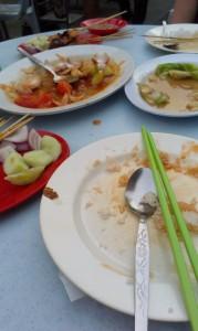Empty Plate!