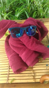 My elephant towel...effort!