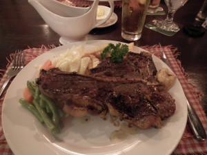 T-Bone Steak!