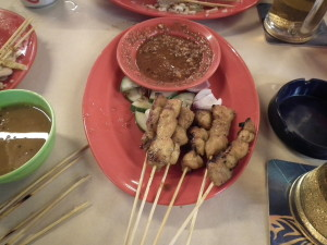 Chicken satay - awesome!