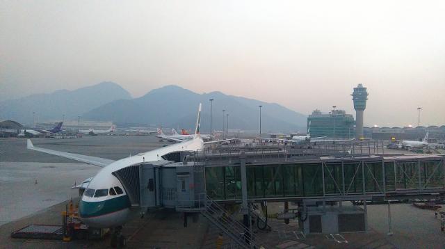 Hong Kong International Airport!
