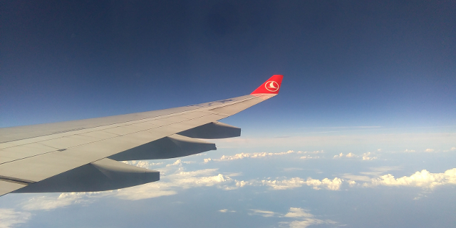 Turkish Airlines - Beginning Descent