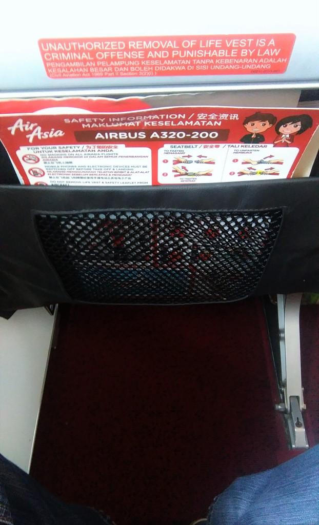 AirAsia Legroom