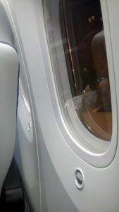 787's Huge Windows!