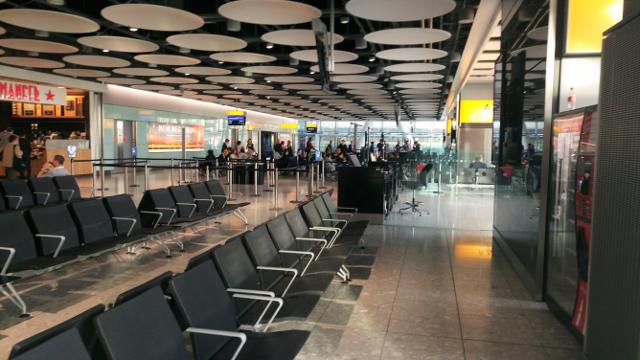 Tight at Heathrow!