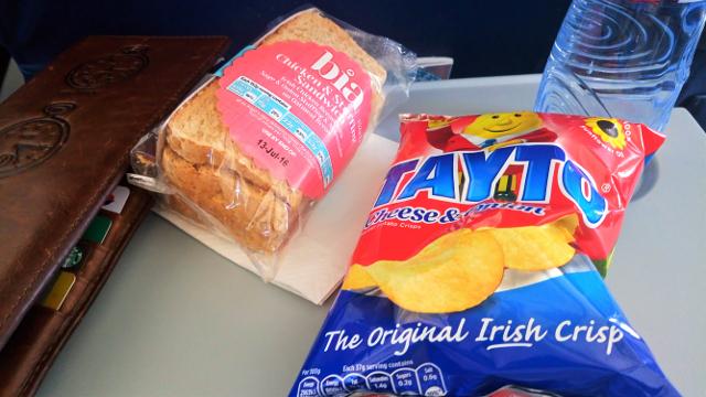 The Aer Lingus Ritual...
