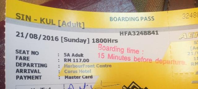 Aeroline Ticket