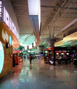 Never-ending airport walking distances...