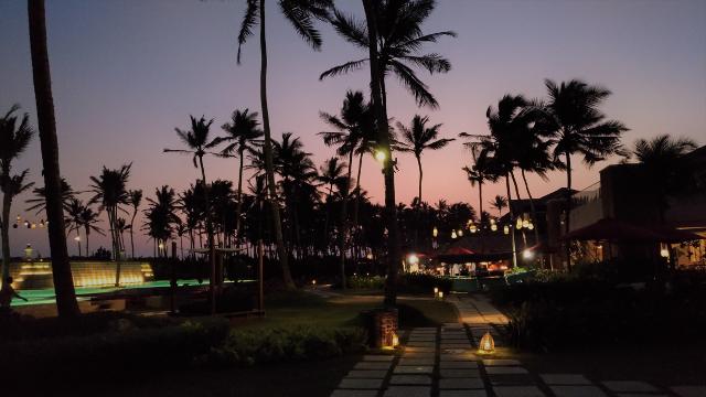 Evening at Shangri-La Hambantota