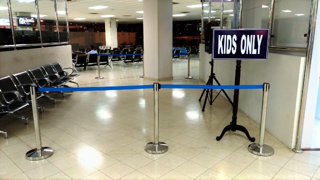 Kids Area, Colombo Airport