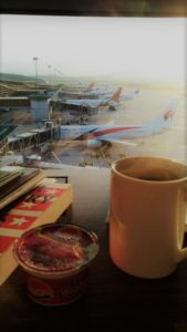 Malaysia Airlines regional lounge