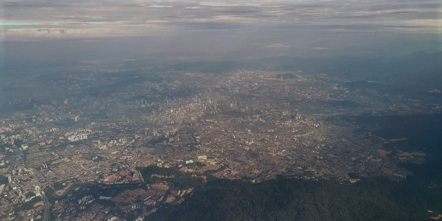 KL from the air!