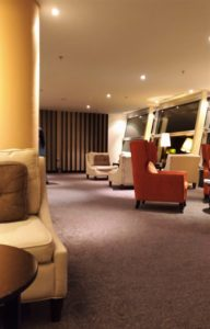 Malaysia Airlines First-Class Lounge