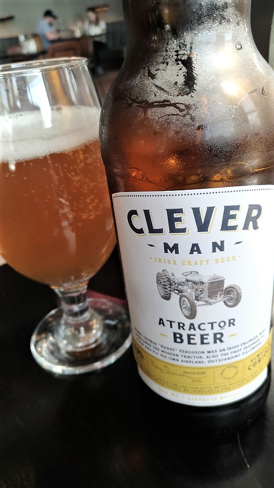Clever Man craft beer