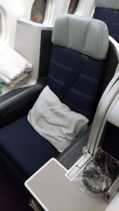 Malaysia Airlines' Seat 1K