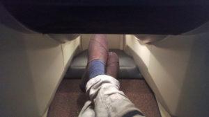 Seat 4K Foot space