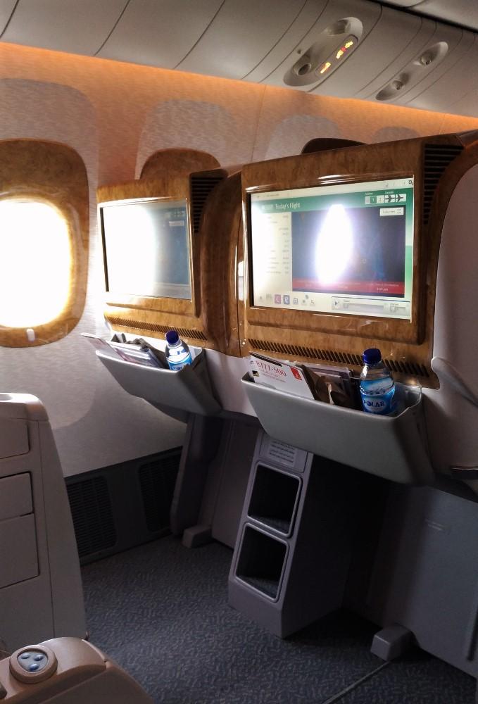 Emirates 7-Across Business Class