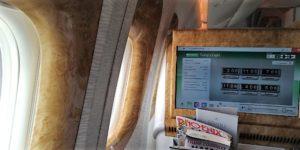 Emirates Business Class - & JetStar