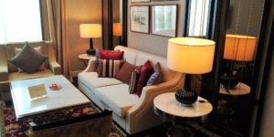 Majestic Hotel Suite - Living Room