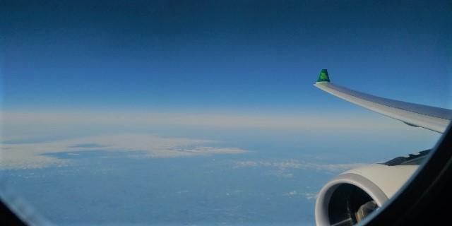 Aer Lingus Business Class, Dublin to Boston