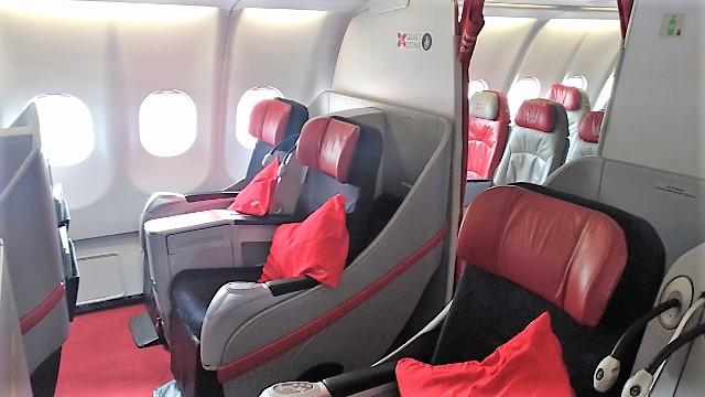 AirAsia Premium Flatbed cabin