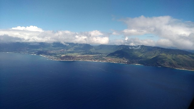 First glimpse of Hawaii!