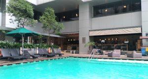 Doubletree KL Pool Area