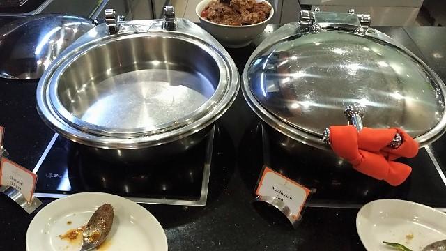 Sama-Sama Lounge Food Selection