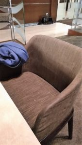 Airport lounge chair