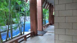 Equarius Hotel Balcony