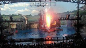 Waterworld Show VIP Lounge