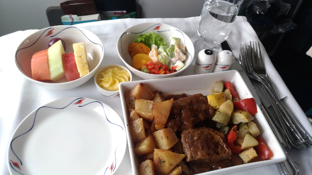 SriLankan Airlines Meal