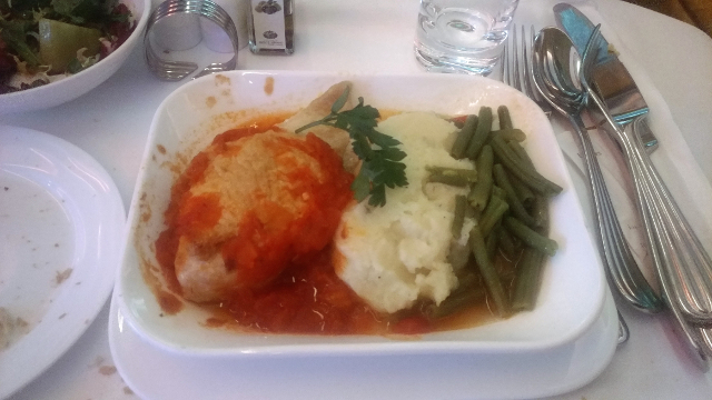 EK business class food