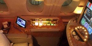 Emirates First A380