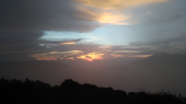 Sunrise at Mount Batok