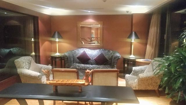 Shangri-La Club Lounge upholstery...
