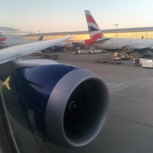 British Airways' Pushback