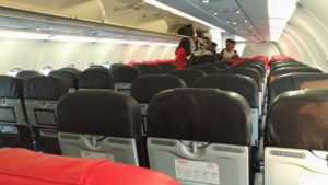 AirAsia Emergency Exit Seat