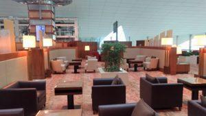 Emirates Concourse A business lounge