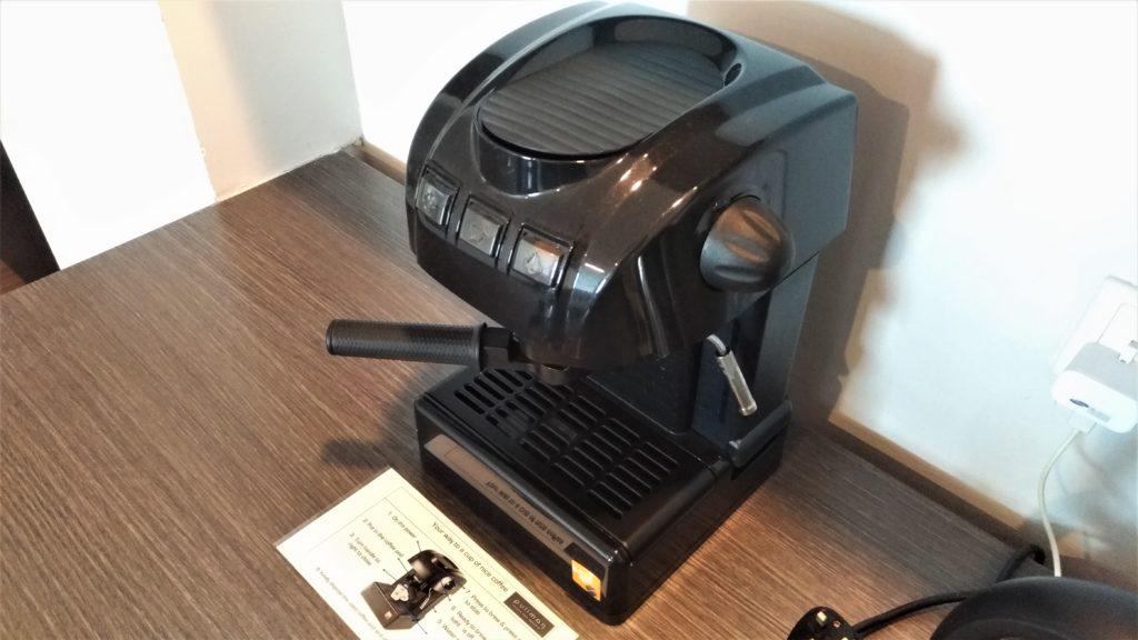 Pullman Kuching coffee machine