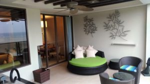 Rasa Ria Ocean Wing balcony