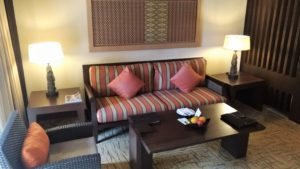 Premier Room living space
