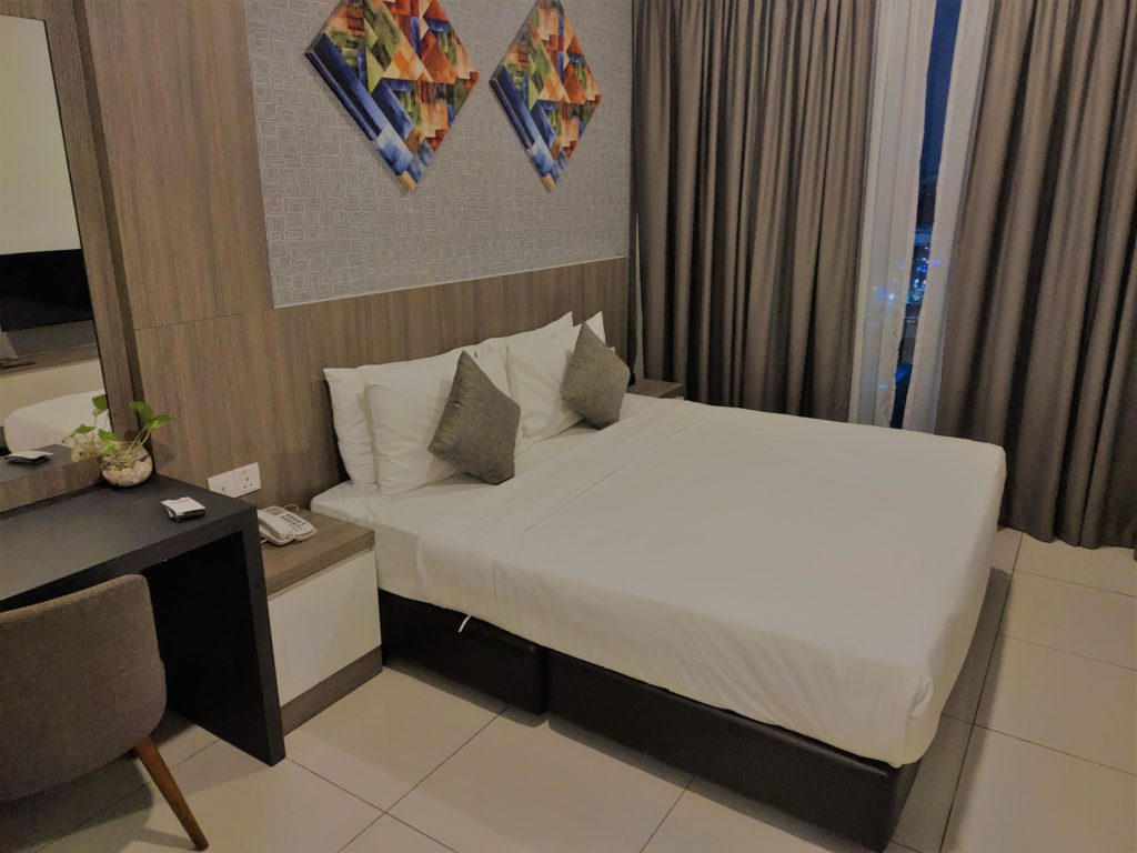 D'Wharf Hotel Bedroom
