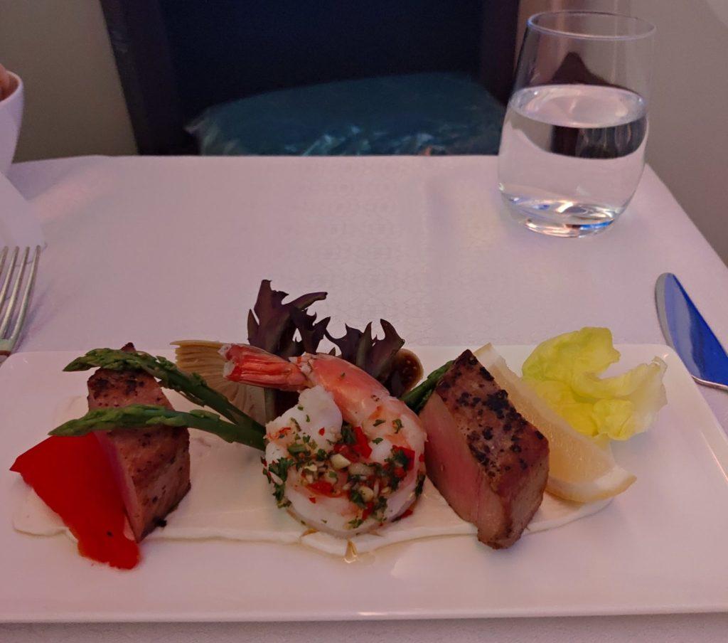 Oman Air Business Cabin Starter